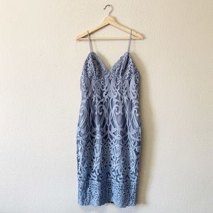 Bardot Lace Thin Strap Cocktail Dress